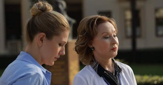 Удовиченко и Андоленко играют бабушку и внучку в сериале