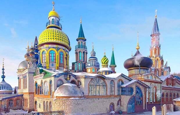 Отель для семейного отдыха в Казани
