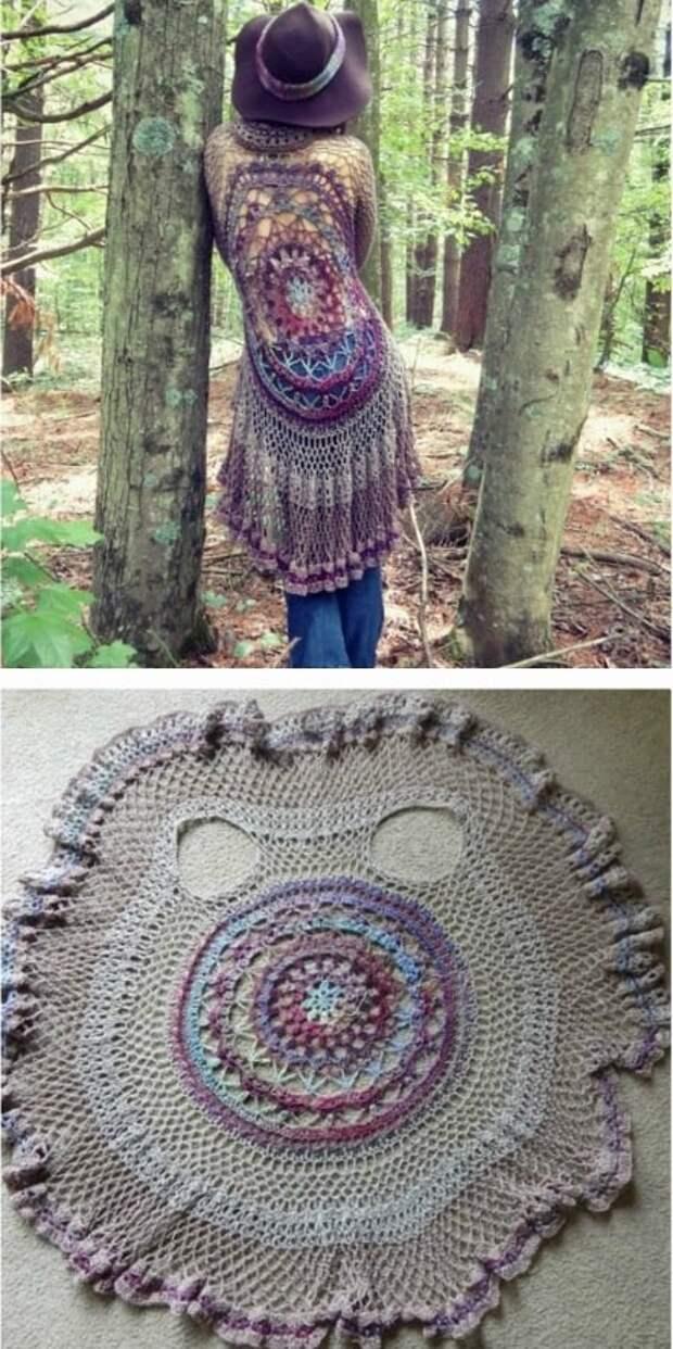 Жакет-шаль — роскошное дополнение к весеннему гардеробу