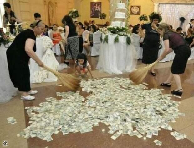 Прикольные свадебные торжества 8