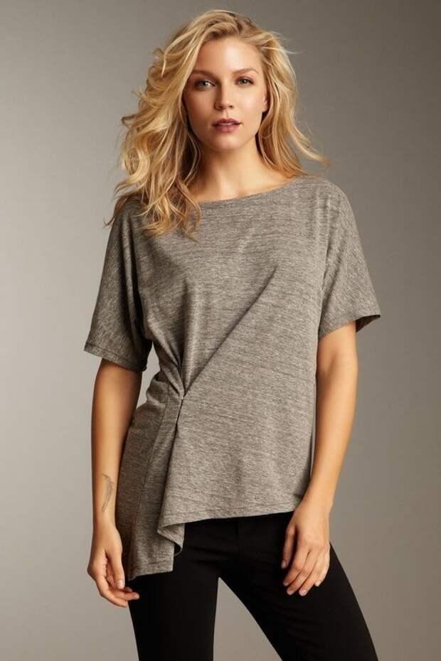 Защипы на футболках (10 способов)