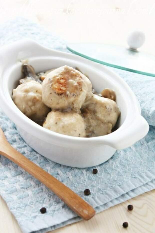 Фрикадельки из грибов. \ Фото: attuale.ru.