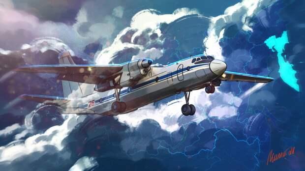 Фрагменты пропавшего Ан-26 под Хабаровском найдены возле поселка Корфовский