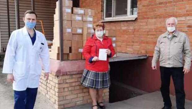 Депутаты купили 40 упаковок антисептика для Подольского роддома