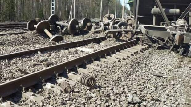 Движение поездов восстановлено после схода вагонов в Самарской области