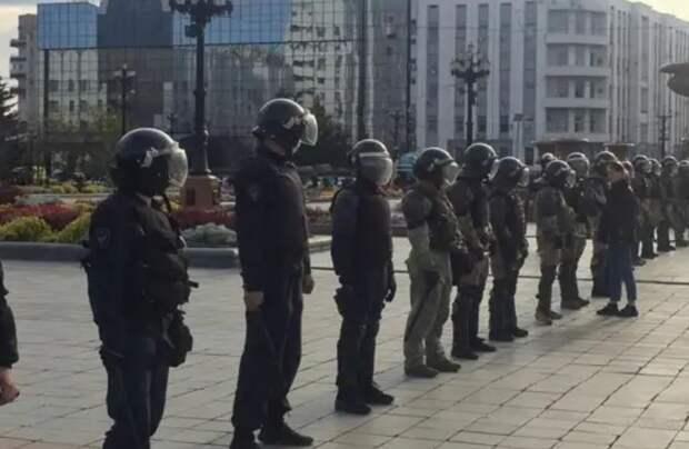 Когда ОМОН прав – о задержании наглых провокаторов в Хабаровске