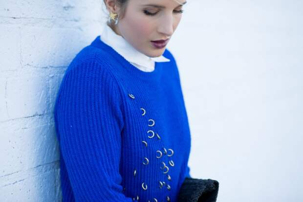 Стильный свитер на лето своими руками