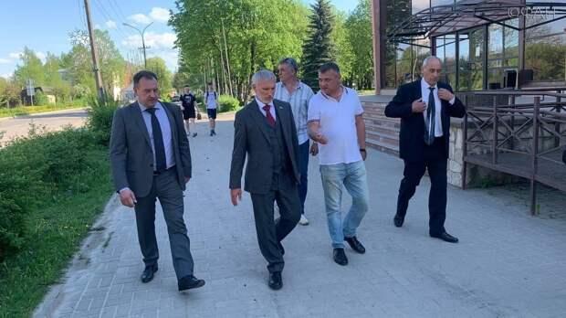 Алексей Журавлев завершил визит в Псковскую область в Порхове