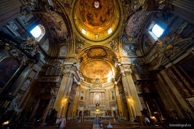 Гуляем по старым католическим церквям Рима