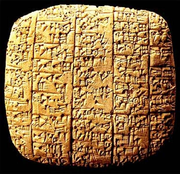 Государство Эбла в восточном Средиземноморье (2-я пол. III тыс.)