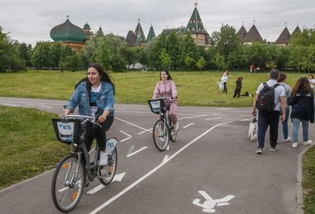 Где в Москве пролегают самые живописные велосипедные маршруты