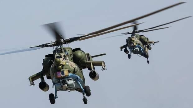 Мантуров рассказал об интересе зарубежных стран к вертолёту Ми-28НМ