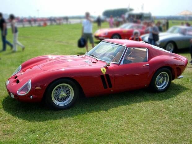 Дорогих машин много, но вот самой-самой остается Ferrari 250 GTO, 1963 г.
