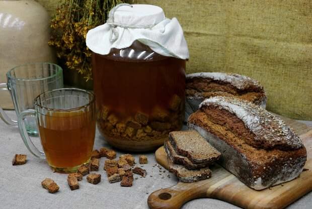 Простые рецепты закваски для домашнего кваса порадуют любителей этого напитка