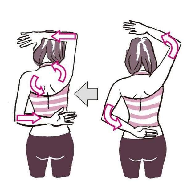 Изменение осанки и похудение за две недели