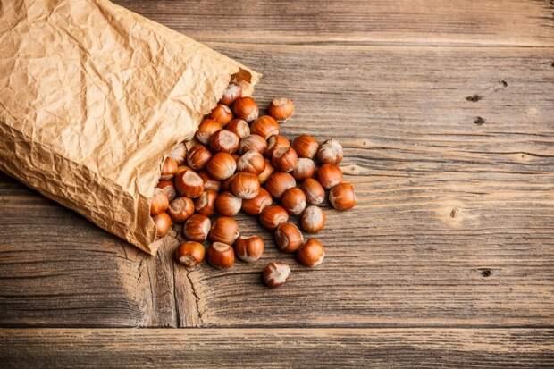 польза орехов на завтрак