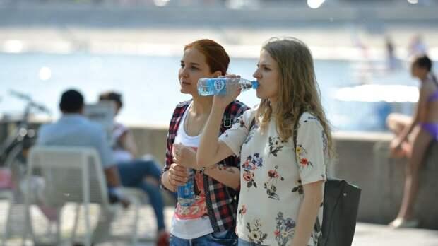 Температурный рекорд зафиксирован в Москве метеостанцией на ВДНХ