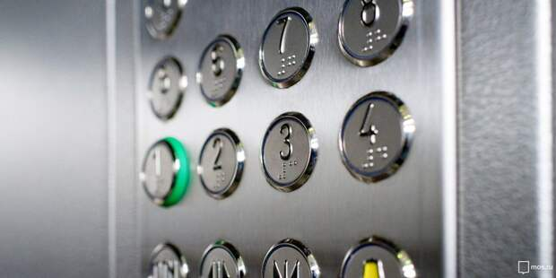 В доме на Седова починили лифт