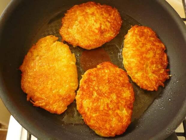 Картофельные оладьи: 2 способа приготовления