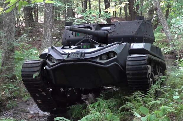 Легкие танки-роботы скоро поступят на испытания в армию США