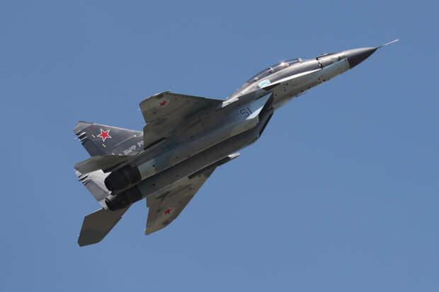 В Индии разбился МиГ-29К