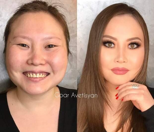 Никогда не доверяй женщине с макияжем: 20 ошеломляющих работ от российского визажиста визажист, <a href=
