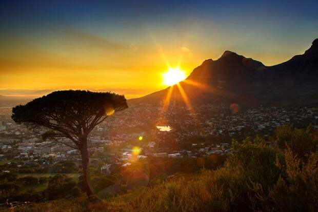 Красивые места, где можно полюбоваться на рассвет