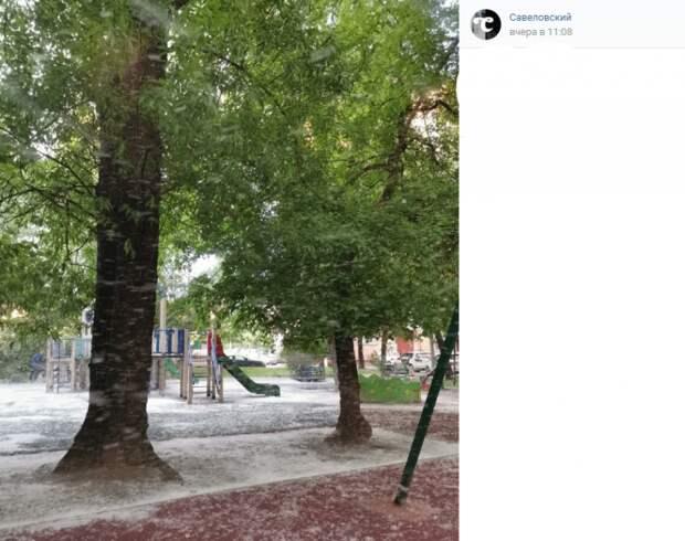 В Петровско-Разумовском проезде будет проведена промывка двора