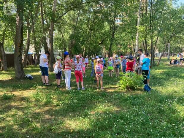 Школьные лагеря Ижевска начали работу с учетом коронавирусных ограничений