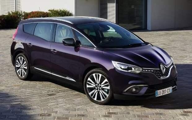 Парижский гламур: новый Renault Scenic стал еще красивее