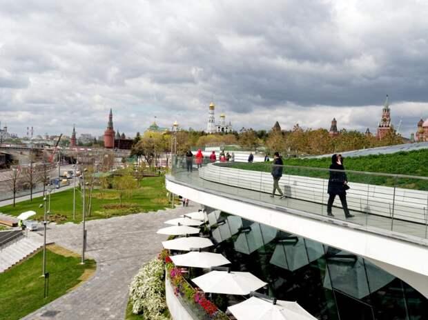 Московские парки останутся открытыми впериод нерабочих дней: Новости ➕1, 27.10.2021
