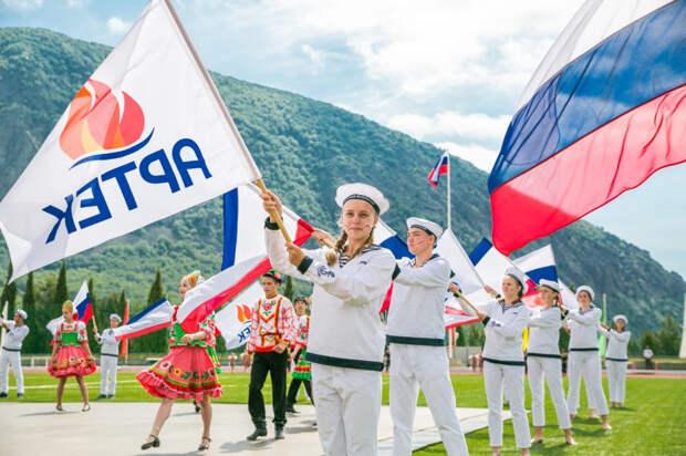 В «Артеке» стартует смена «Мы дети твои, Россия!»