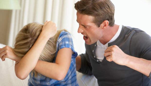 Если муж бьет жену, что делать