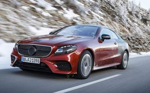 Новое купе Mercedes-Benz E-класса: дело о форточках