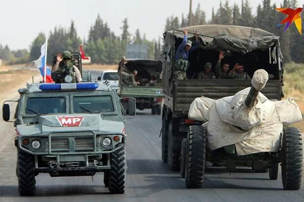 Броневики «Тигр» патрулируют трассу Фото: Александр КОЦ