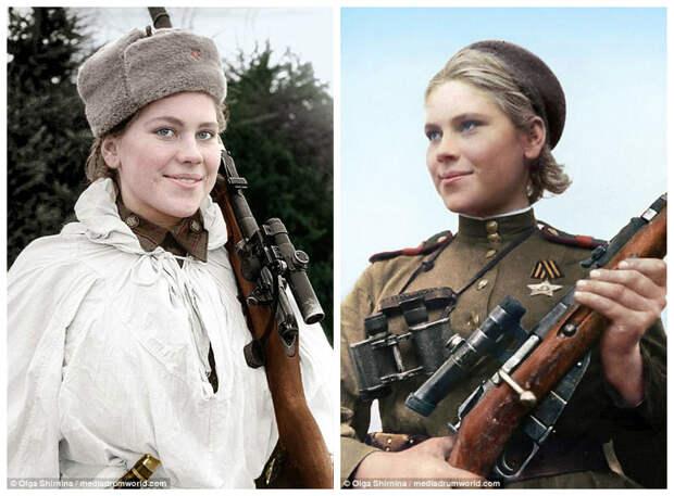 Как живые: Леди Смерть и другие советские женщины-снайперы Второй мировой