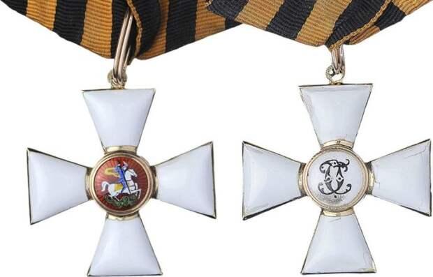 Женщины, получившие офицерский Орден святого Георгия
