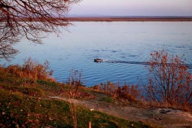 В северных районах Хабаровского края закрывается навигация для маломерных судов