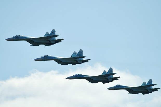 Четыре российских боевых самолета вошли в топ-10 самых популярных в мире