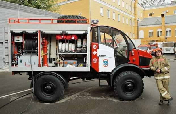 6 фото советских пожарных машин