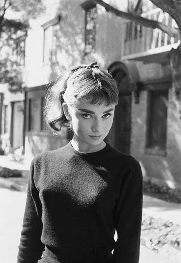 Одри Хепберн Беверли-Хиллз, 1953 год