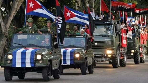 ВАЗ-2108 и другие автомобили Фиделя Кастро