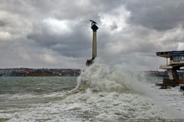 В Севастополе ожидается усиление ветра — объявлено штормовое предупреждение