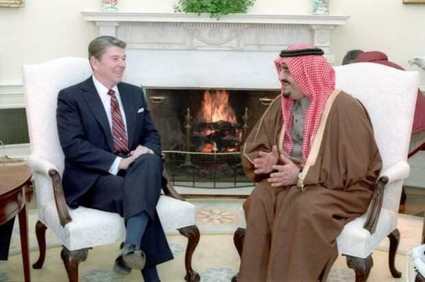 Альянс саудовских ваххабитов и американского «шайтана» против СССР