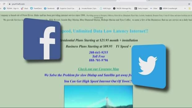 В Айдахо заблокировали Facebook и Twitter