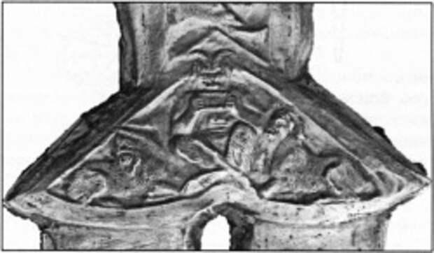 Перекрестие меча из кургана Толстая Могила (фото: Д.В. Клочко)