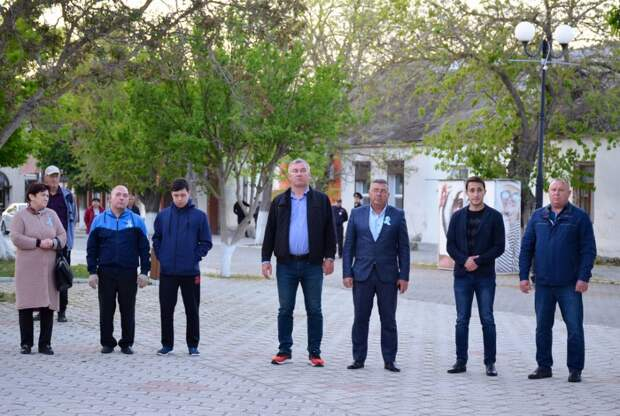 Черноморцы приняли участие в акции «Зажги огонь в своем сердце»