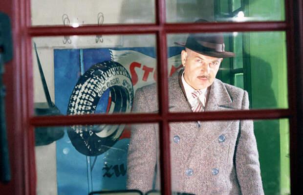 "Kadr z filmu ""Va bank"", reżyseria: Juliusz Machulski. Na zdjęciu: Jan Machulski, fot. Polfilm / East News"