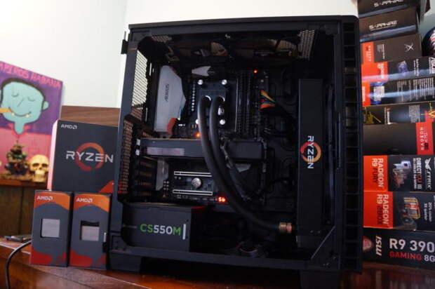 AMD Ryzen 7 1700 сравнили с процессором Intel 5-летней давности - Изображение 1