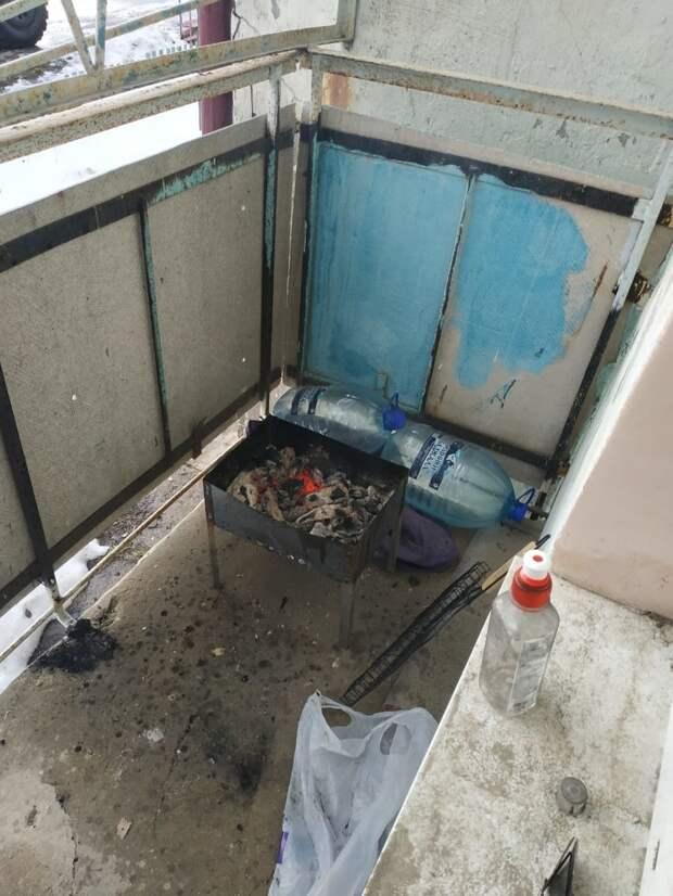 В Хабаровском крае жителя Китая оштрафовали за попытку пожарить шашлыки на балконе